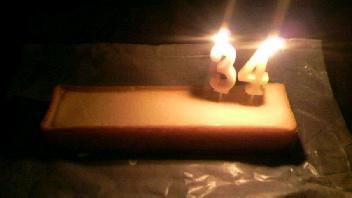 34歳の誕生日